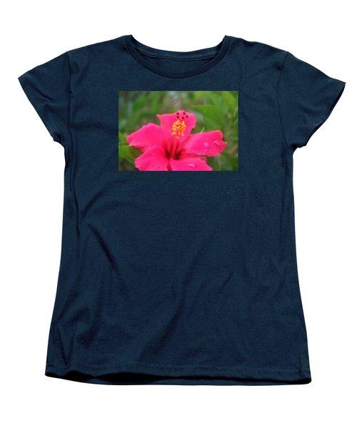 Women's T-Shirt (Standard Cut) featuring the photograph Garden Rains by Miguel Winterpacht