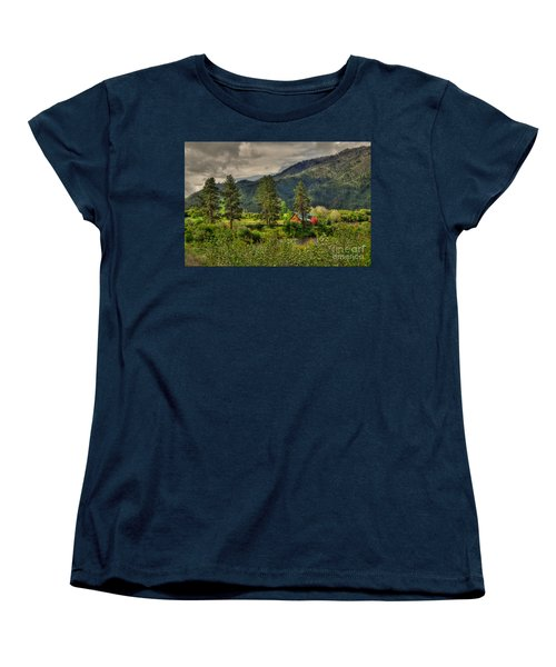 Women's T-Shirt (Standard Cut) featuring the photograph Garden Valley by Sam Rosen