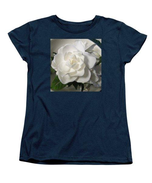Gardenia Bowl Women's T-Shirt (Standard Cut) by Deborah Lacoste