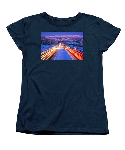 Gateway To The Rockies Women's T-Shirt (Standard Cut)