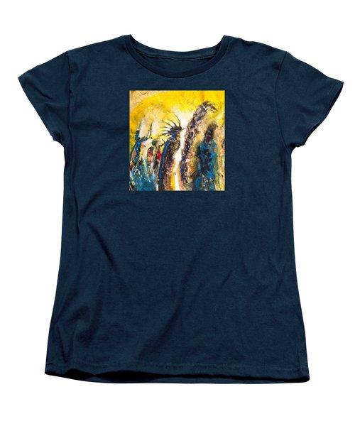 Gathering 2 Women's T-Shirt (Standard Cut) by Kicking Bear  Productions