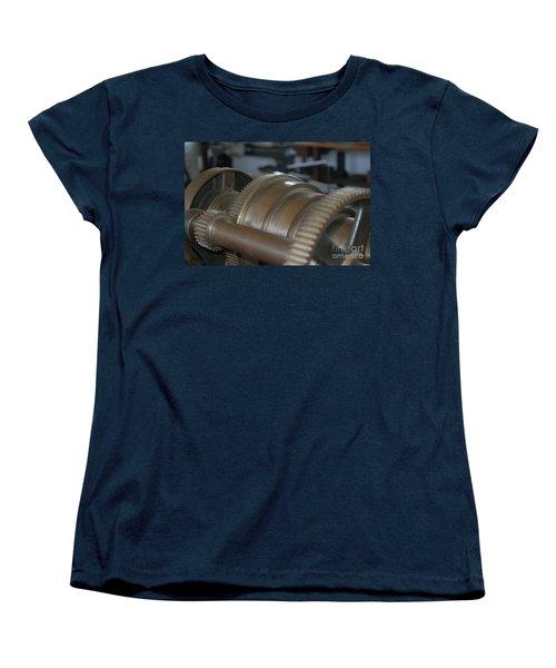 Gears Of Progress Women's T-Shirt (Standard Cut) by Patrick Shupert