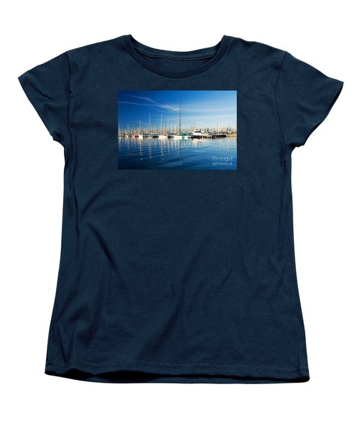 Women's T-Shirt (Standard Cut) featuring the photograph Gem Pier Of Williamstown by Yew Kwang