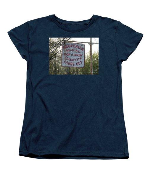 Women's T-Shirt (Standard Cut) featuring the photograph General Store by Michael Krek