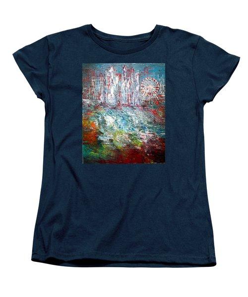 Gentle Breeze  Women's T-Shirt (Standard Cut) by George Riney