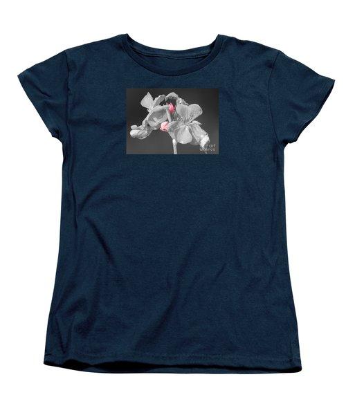 Geranium Women's T-Shirt (Standard Cut) by Cindy Manero