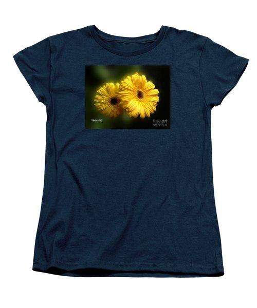 Gerber Babies Women's T-Shirt (Standard Cut) by Becky Lupe