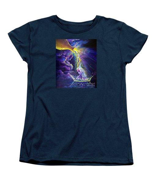 Get Ready Women's T-Shirt (Standard Cut) by Nancy Cupp