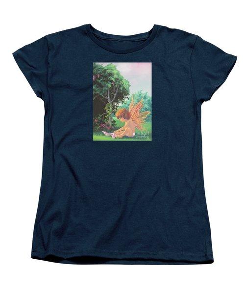 Getting Dressed Women's T-Shirt (Standard Cut) by Vivien Rhyan