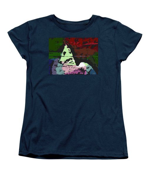 Ghost Cow Women's T-Shirt (Standard Cut) by George Pedro