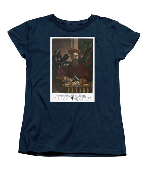 Women's T-Shirt (Standard Cut) featuring the painting Gian Galeazzo Sanvitale by Granger