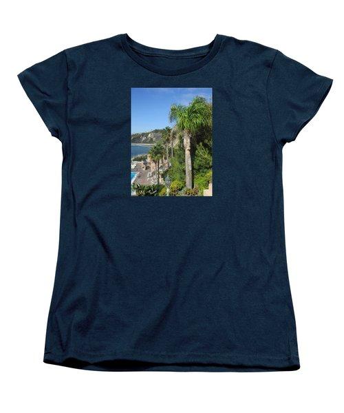 Giant Palm Women's T-Shirt (Standard Cut) by Vivien Rhyan