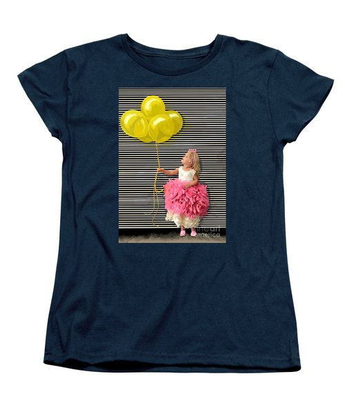 Gillian With Yellow Balloons Women's T-Shirt (Standard Cut)