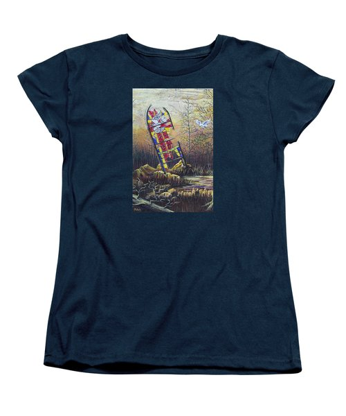 Glass Dove Women's T-Shirt (Standard Cut) by Jack Malloch