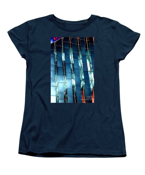 Women's T-Shirt (Standard Cut) featuring the photograph Glass House II by Christiane Hellner-OBrien