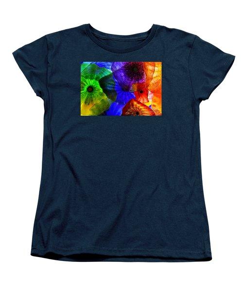 Glass Palette Women's T-Shirt (Standard Cut) by Kasia Bitner