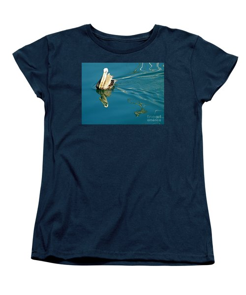 Women's T-Shirt (Standard Cut) featuring the photograph Gliding by Clare Bevan