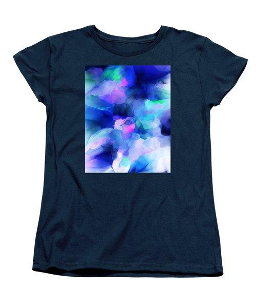 Women's T-Shirt (Standard Cut) featuring the digital art Glory Morning by David Lane
