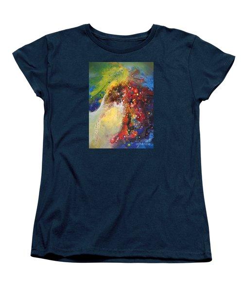 Glory Of Nature Women's T-Shirt (Standard Cut) by Sanjay Punekar