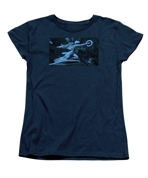 Goddess Hood Ornament  Women's T-Shirt (Standard Cut) by Patrice Zinck