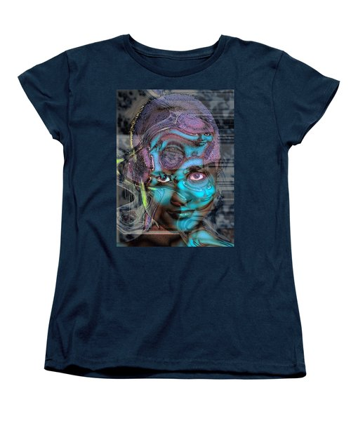 Women's T-Shirt (Standard Cut) featuring the photograph Goddess Of Love And Confusion by Richard Thomas