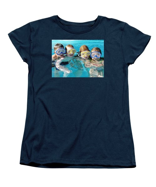 Women's T-Shirt (Standard Cut) featuring the photograph Goggle Eyed Quartet by David Nicholls