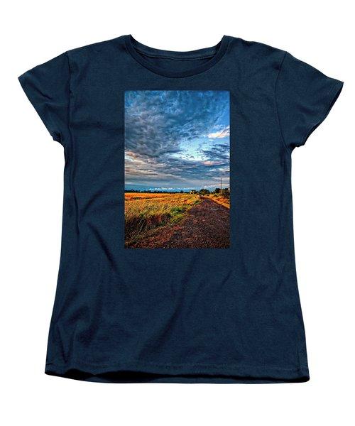 Goin' Home Women's T-Shirt (Standard Cut) by Steve Harrington