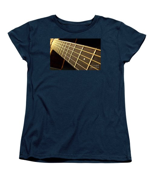 Women's T-Shirt (Standard Cut) featuring the photograph Golden Days by Andrea Anderegg