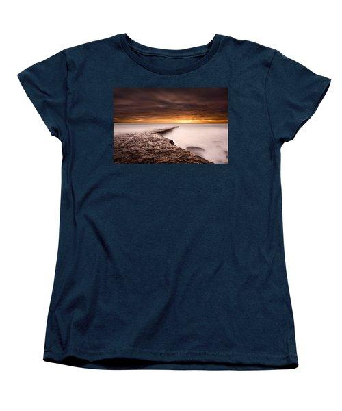 Golden Women's T-Shirt (Standard Cut) by Jorge Maia