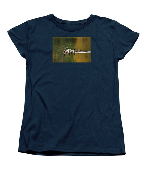 Golden Lake Women's T-Shirt (Standard Cut) by Menachem Ganon