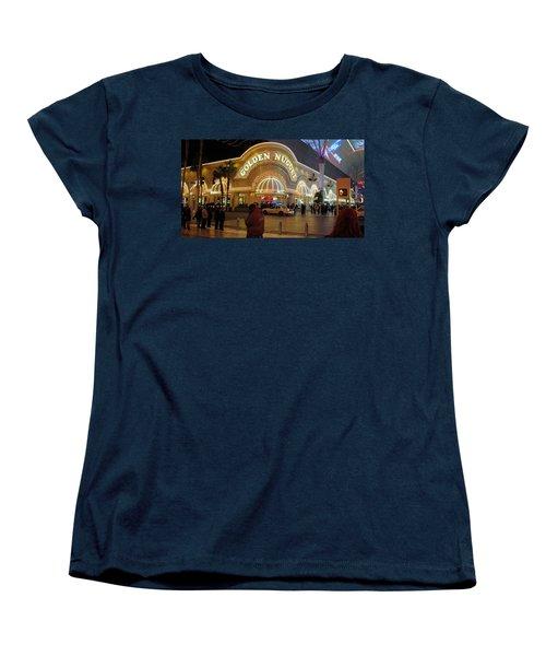 Golden Nugget Women's T-Shirt (Standard Cut) by Kay Novy