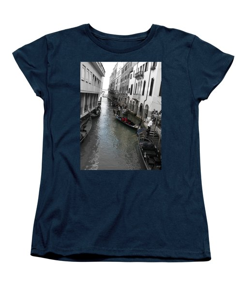 Gondolier Women's T-Shirt (Standard Cut) by Laurel Best