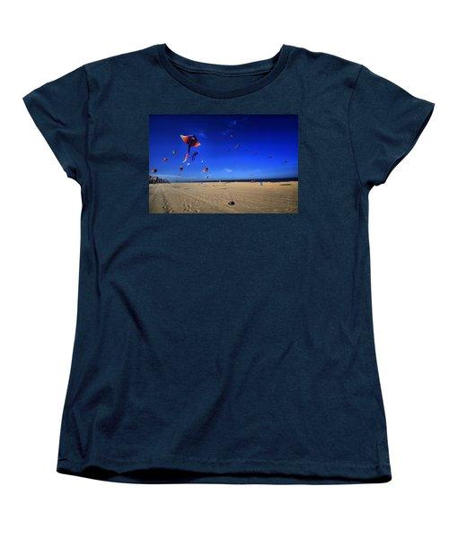 Gone Flyin Women's T-Shirt (Standard Cut) by Robert McCubbin