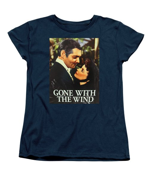 Gone With The Wind Women's T-Shirt (Standard Cut) by Natalie Ortiz