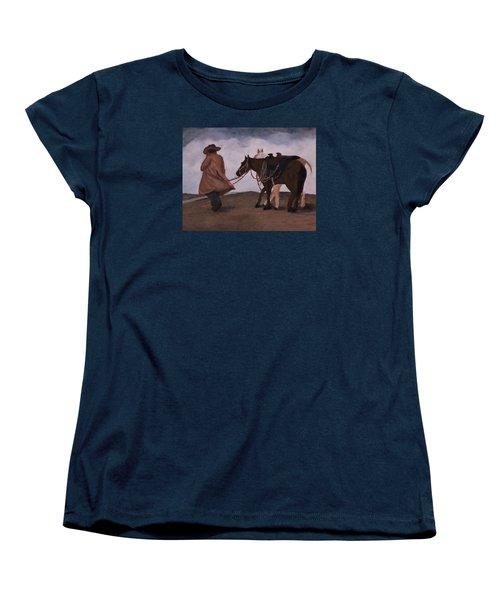 Good Day For A Walk Women's T-Shirt (Standard Cut) by Christy Saunders Church