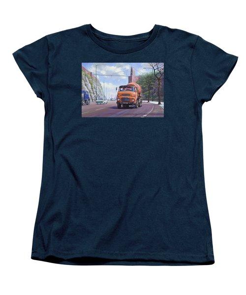 Good Mixer Women's T-Shirt (Standard Cut) by Mike  Jeffries