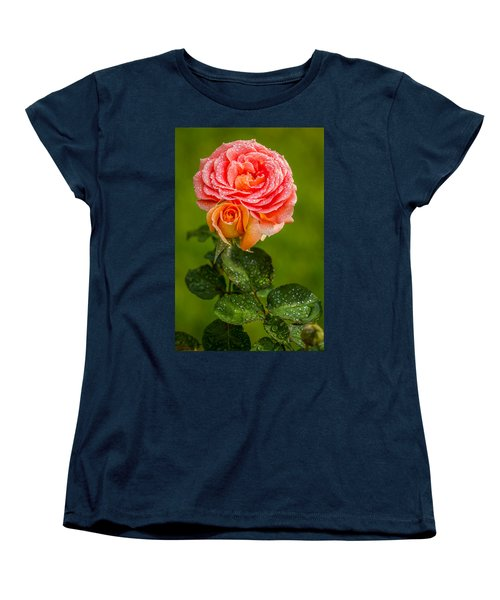 Good Morning Beautiful Women's T-Shirt (Standard Cut) by Ken Stanback