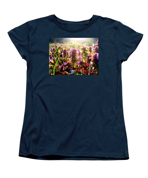 Good Morning Women's T-Shirt (Standard Cut) by Nina Ficur Feenan