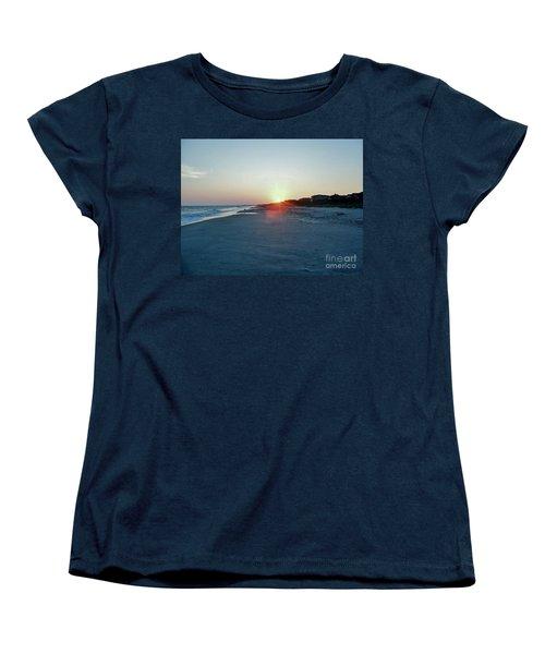 Women's T-Shirt (Standard Cut) featuring the photograph Good Night Day by Roberta Byram