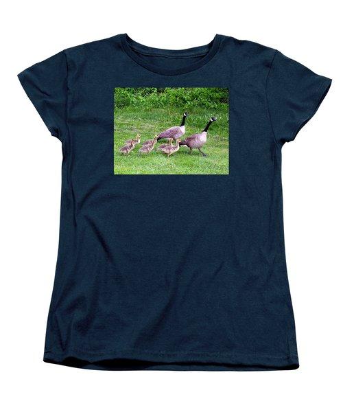 Goose Step Women's T-Shirt (Standard Cut) by Will Borden