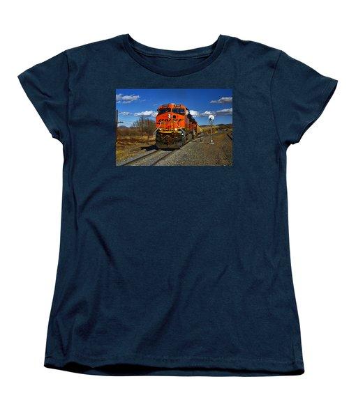 Got The Green Light Women's T-Shirt (Standard Cut) by Ken Smith