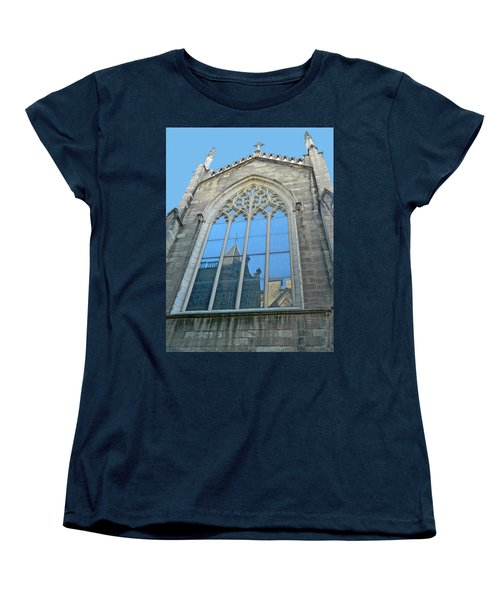 Women's T-Shirt (Standard Cut) featuring the photograph Grace Episcopal Church Nyc by Emmy Marie Vickers