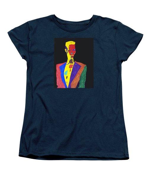 Grace Jones Women's T-Shirt (Standard Cut) by Stormm Bradshaw