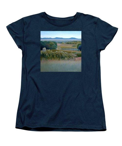 Grace Vineyards No. 1 Women's T-Shirt (Standard Cut) by Catherine Twomey