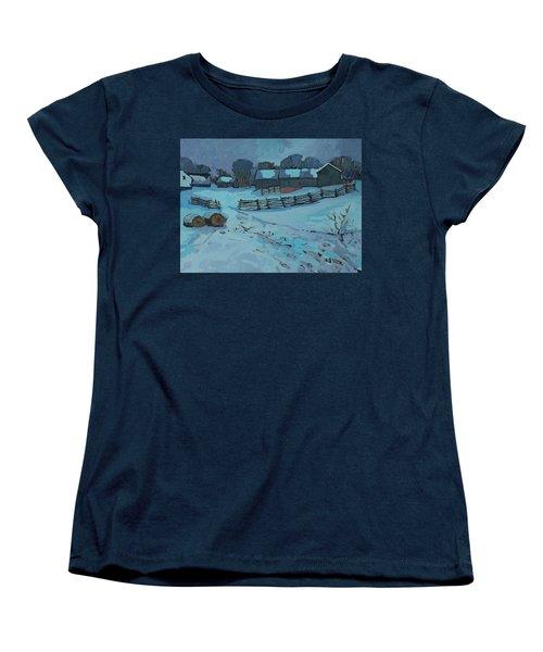 Grady Road Farm Women's T-Shirt (Standard Cut) by Phil Chadwick
