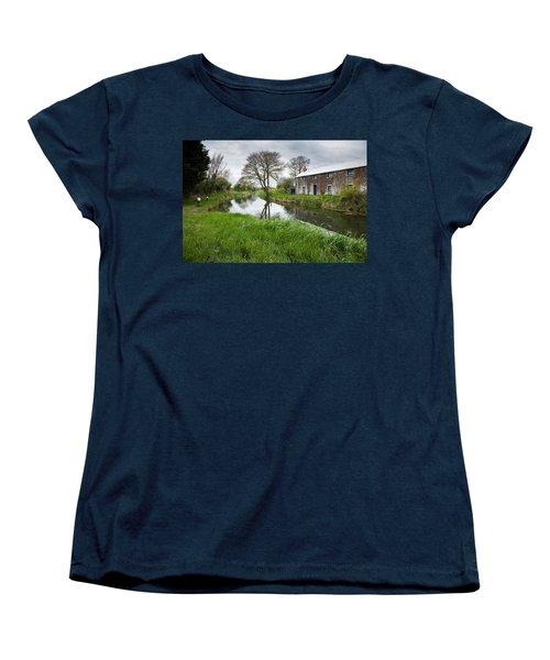 Grand Canal At Miltown Women's T-Shirt (Standard Cut)