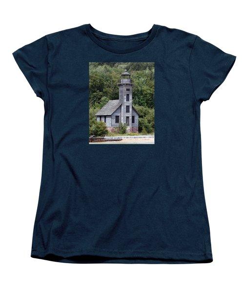 Grand Island East Channel Lighthouse Women's T-Shirt (Standard Cut)