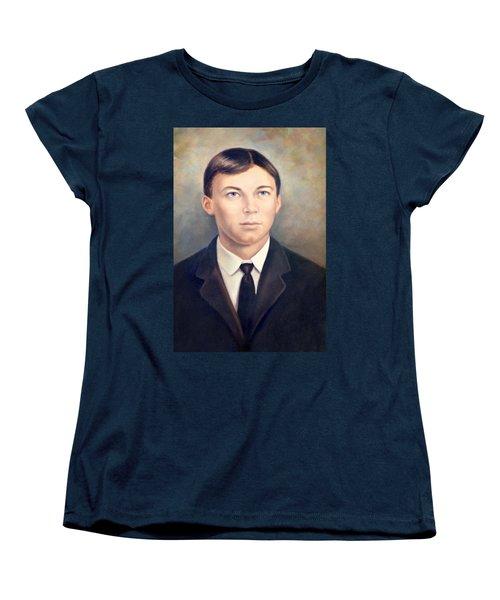 Grandfather Women's T-Shirt (Standard Cut) by Susan Leggett