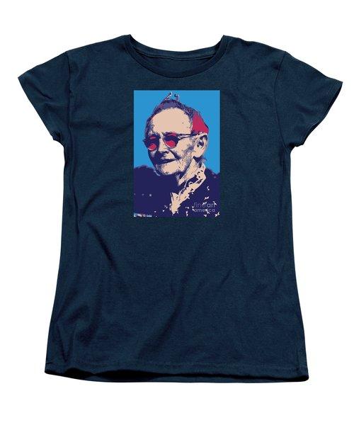 Grandma Moses Women's T-Shirt (Standard Cut) by Gerhardt Isringhaus