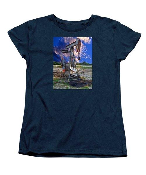 Women's T-Shirt (Standard Cut) featuring the photograph Grasshopper by Ella Kaye Dickey